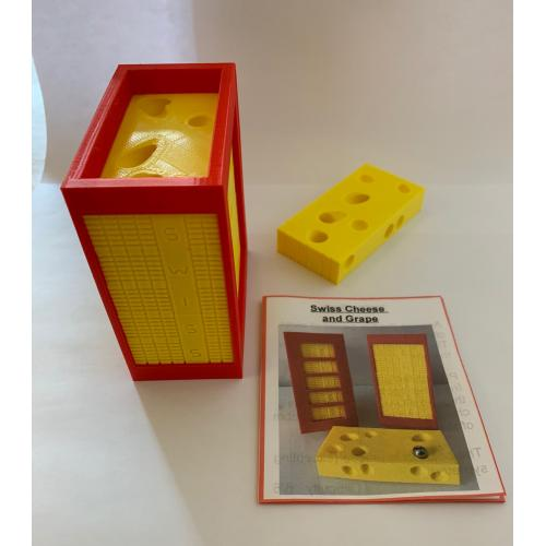 Swiss Cheese and Grape by Bruno Puzzlemaker