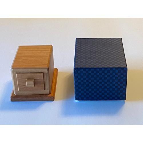Kamei Drawer with a Lid Puzzle Box ( M-53 )