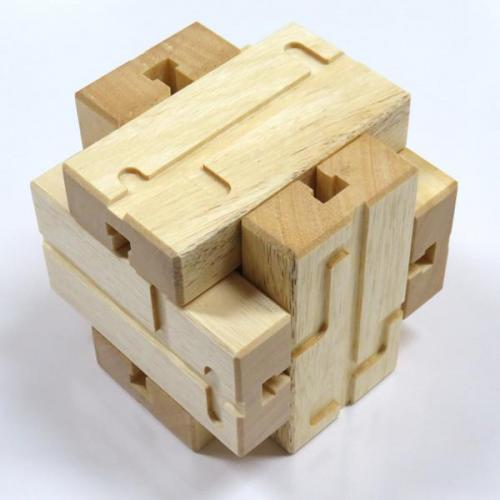 NEVER OPENED T-Slot Burr Puzzle by Junichi Yananose (Juno)